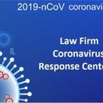 Law Firm Coronavirus Response Centers